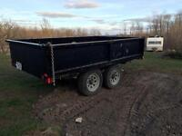 2010 3 1/2 ton side dump trailer forsale