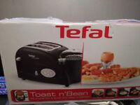 Toast and bean cooker