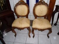 A pair of Rococo Chairs