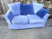 Matching pair 2 seat sofas
