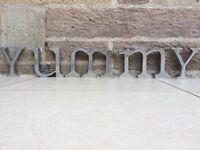 Bombay Duck Aluminium Alphabet Letters