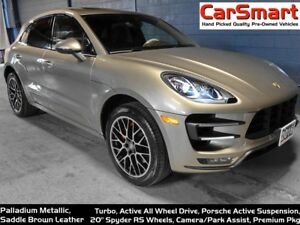 2016 Porsche Macan Turbo, PASM (active susp), Park Assist/Camera