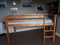 High sleeper bunk bed