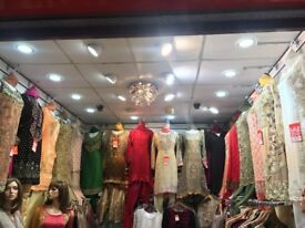 Asian Ladies' Boutique Unit for Sale - Southall