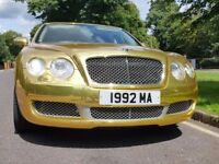BENTLEY MULLINER CHROME GOLD