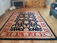 Wool rug Chinese.