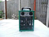 Brand New 2 kW 'Simplicity' Greenhouse Fan Heater