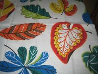 NEW: 4 IKEA COTTON FABRIC PIECES - 66CM WIDE