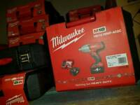 Milwaukee battery nut gun