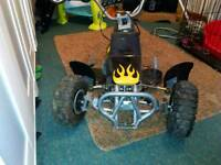 Mini quad bike plasics