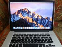 Apple Macbook Pro With Retina Display.