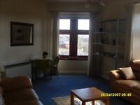 1-Bedroom, top floor flat in Springburn for rent, lovely views, near train station and bus stop.