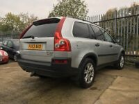 Volvo XC90 2.4 TD D5 SE Geartronic 5dr │Runs and Drives but selling for spares or repairs