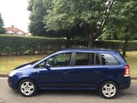 Vauxhall Zafira Exclusive1.6cc Petrol Full History Air Con Long Mot Alloys 7 Seater P/X Welcome