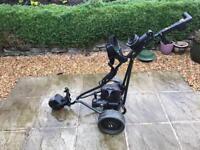 Powakaddy electric golf buggy with bag for sale