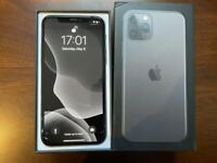 Mint iPhone 11 Pro 256GB Space Grey UNLOCKED with Free OEM Apple Cases