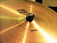 PAISTE 2002 BLACK LABEL 18 INCH CRASH, 20 INCH MEDIUM, 1979 ORIGINALS . TOGETHER OR SEPARATELY.