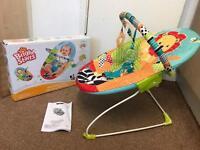 New bright starts roaming baby bouncer