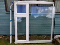 UPVC double glazed Anglian window