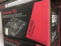 Pioneer DJM-450 2-Channel Mixer
