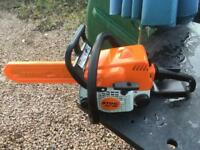 Stihl MS180 Chainsaw.