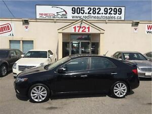 2010 Kia Forte 2.4L SX, Leather, Sunroof, WE APPROVE ALL CREDIT