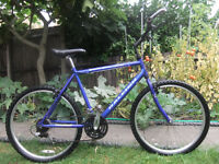 "Raleigh Men's/Ladies Bike 26"" wheels 20"" Frame 21 Geards"