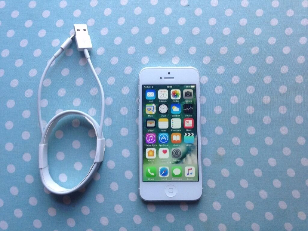 iphone 5 white unlock 16gbin Coventry, West MidlandsGumtree - iphone 5 unlock 16gb white factory reset for new owner selling price 105 please quote iphone 5 unlock when call or sms thanks
