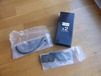 New Samsung 3D glasses (2 unopened packages and glasses)
