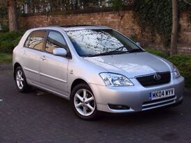EXCELLENT EXAMPLE!!! 2004 TOYOTA COROLLA 1.6 VVT-i T SPIRIT 5dr, FSH, LONG MOT, 2 FORMER KEEPERS