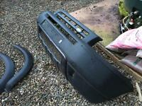 Front & rear bumpers Freelander 1