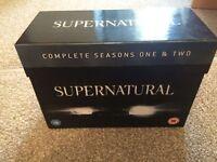 Supernatural season 1&2 DVD boxset