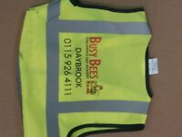 Childrens Hi-Vis Vest for Nurseries