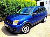 **1 PREV OWNER** 2008 FORD FUSION ZETEC CLIMATE 1.6 TDCI BLUE 5 DOOR MANUAL