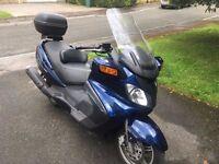 Suzuki Burgman 650 - 2003 model - 18,615 miles
