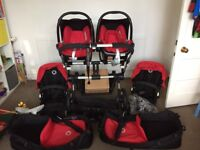 Bugaboo Donkey Pram - with lots of accessories
