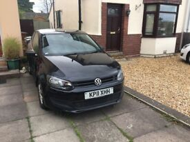 Damaged 2011 Volkswagen Polo for sale, still runs and drives well. Needs new door and sill!