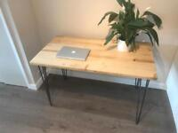 Reclaimed timber office desk table. Free fast delivery.