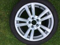 "Volvo S60 Alloy Wheel 17""x8"" style NJORD 2011-1018"