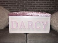 Personalised toybox - made to order!