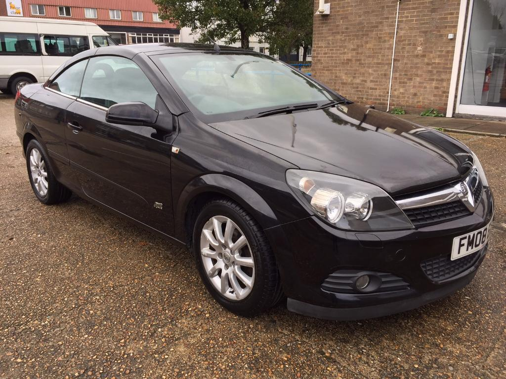 2008 Vauxhall Astra Twin Top SPort 16 Low Mileage Long Mot Run Very Smooth Clean In Out