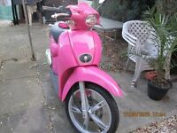 CUTE MOPED