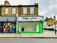 Commercial shop available now in Plashet Road