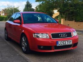 Audi A4 1.9 tdi Sport 130 S Line Leather Interior