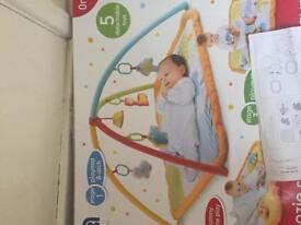 Mothercare Snooze Safari playmat and gym