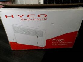 Hyco mirage convector heater ,new in box