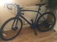 Raleigh Mustang Gravel Road Bike (2016) MINT CONDITION USED ONCE RRP £650