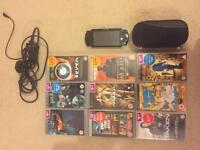 PlayStation PSP with Games/Vids