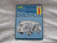 VW Camper Van Haynes Manual 082