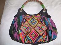 Brand new per una boho/beach bag. Bright colours. Richly embroidered & beaded.